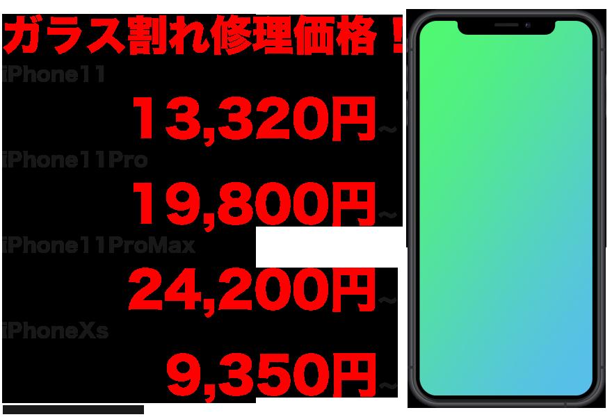 最新のiPhone11 / iPhone11Pro / iPhoneXs / iPhoneXのガラス割れ・液晶割れ・バッテリー交換など、千葉市最安値のスマホBuyerJapanへお任せください!正規店修理よりも安い